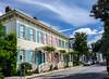 Rainbow Row @ 508 E Bryan St on Washington Square - Savannah, GA
