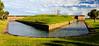 Fort Pulaski Demilune & Moat c. 1847 @ Fort Pulaski National Monument - Savannah, GA