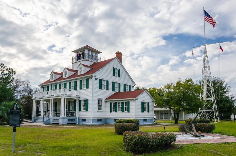 East Beach Coast Guard Station c. 1936 - St. Simons Island, GA