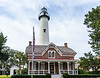 St. Simons Lighthouse & Keeper's House c. 1872 - St. Simons Island, GA