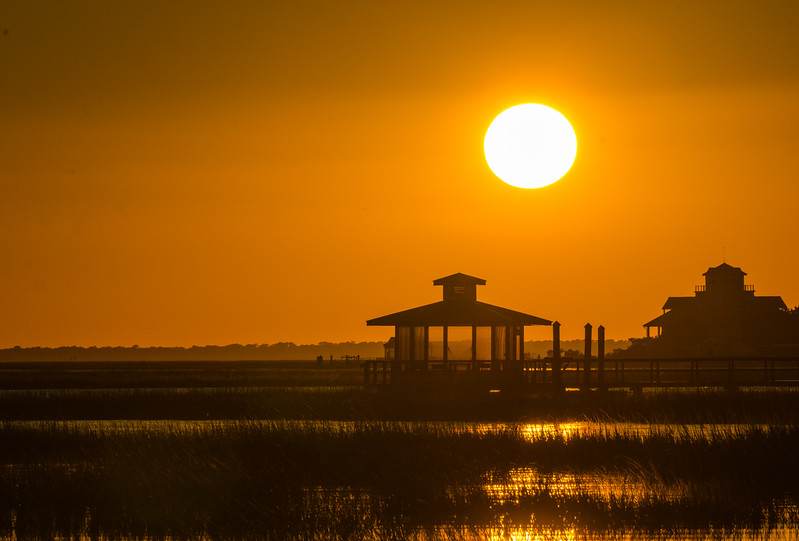 Back River Sunset I - Tybee Island, GA