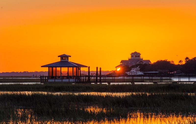 Back River Sunset IV - Tybee Island, GA