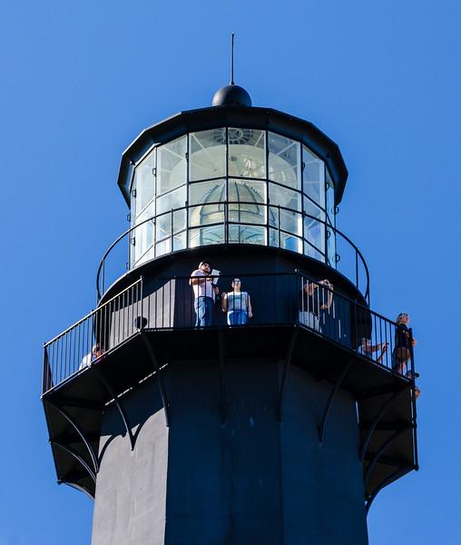 Lighthouse Cupola & Beacon @ Tybee Island Light Station - Tybee Island, GA