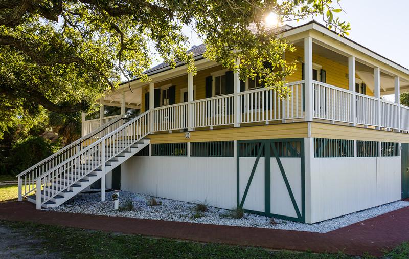 Fogarty-Hostin Cottage c. 1908 @ Tybee Island Light Station - Tybee Island, GA