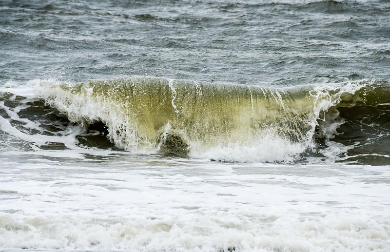 Ocean Wave Cresting - Tybee Island, GA
