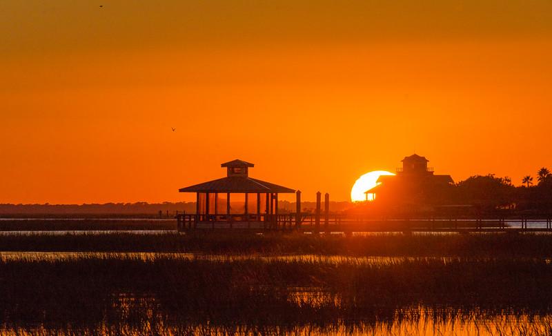 Back River Sunset III - Tybee Island, GA
