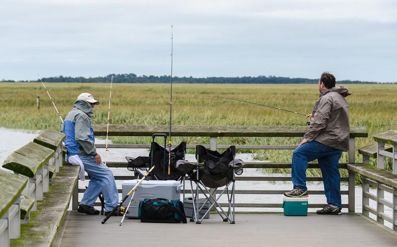 Fishing on Lazaretto Creek - Tybee Island, GA