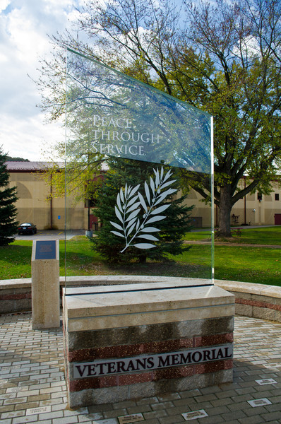 Veterans Memorial, St. Mary's University - Winona, MN