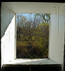 Window in the Zumbrota Covered Bridge - Zumbrota, MN