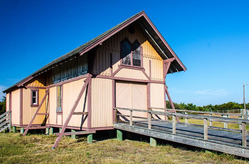First Little Kinnakeet Lifesaving Station c. 1874 - Avon, NC