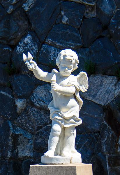 Italian Garden Statue @ Biltmore Estate - Asheville, NC