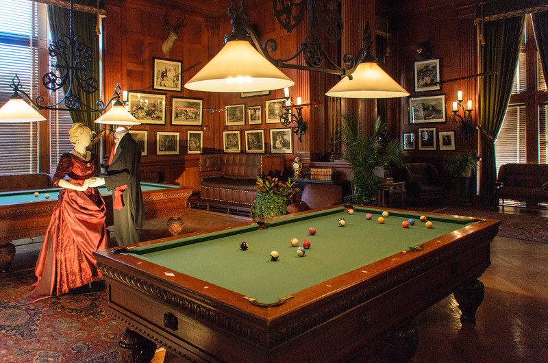 Billiard Room in the Biltmore House @ Biltmore Estate - Asheville, NC