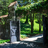 Walled Garden Gate near Spring Garden @ Biltmore Estate - Asheville, NC