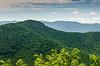Mountain Ridge from Lane Pinnacle Overlook @ MP 372.1 on the Blue Ridge Parkway - Asheville, NC