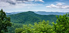 Shopes Creek Valley from Lane Pinnacle Overlook @ MP 372.1 on the Blue Ridge Parkway - Asheville, NC
