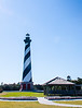 Cape Hatteras Lighthouse & Gazebo @ Cape Hatteras Light Station - Buxton, NC