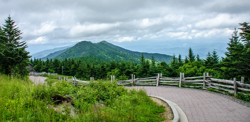 Mt Craig from Mt. Mitchell Summit Trail @ Mt Mitchell State Park - Yancey County, NC
