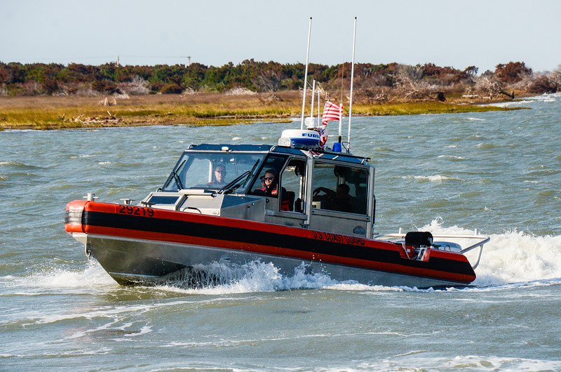 US Coast Guard Boat - Hatteras, NC