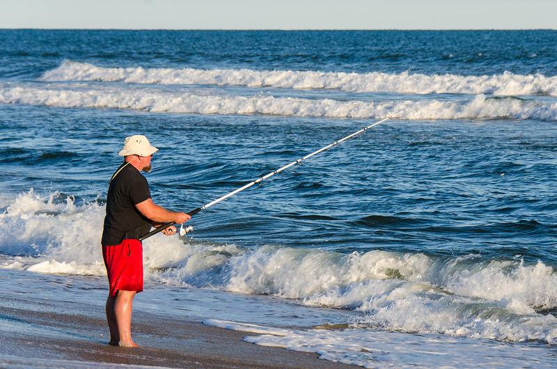 Surf Fisherman - Hatteras, NC