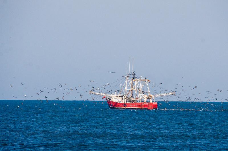 Bald Eagle II Fishing Trawler @ ORV Ramp 27 - Avon, NC