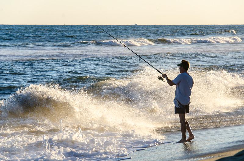High Tide Surf Fishing - Hatteras, NC