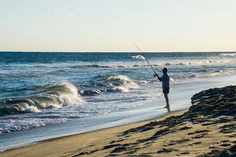Surf Fishing - Hatteras, NC