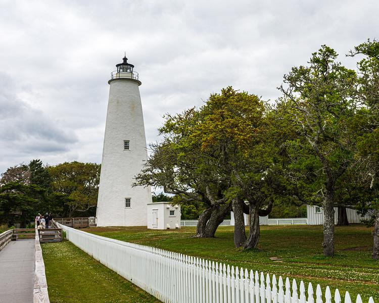 Ocracoke Lighthouse - Ocracoke, NC, USA