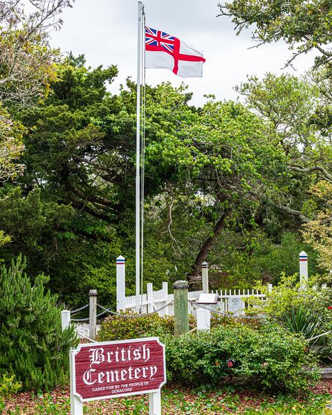 British Cemetery - Ocracoke, NC, USA