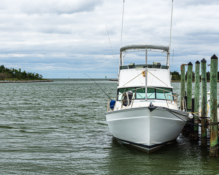 Fishing boat - Ocracoke, NC, USA