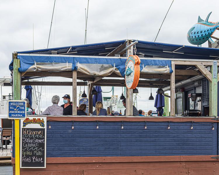 SmacNally's Waterfront Bar & Grill - Ocracoke, NC, USA