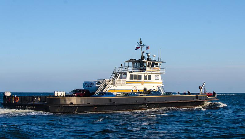 M/V Cape Point (built 1990) - Ocracoke, NC