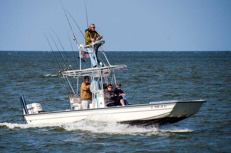Fishing Boat - Ocracoke, NC