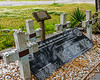 Original Crosses @ British Cemetery - Ocracoke, NC, USA