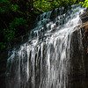 Cascade @ Moore Cove Falls in Pisgah National Forest - Brevard, NC