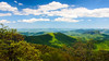 The View East from Pounding Mill Overlook in Pisgah Natinoal Forest - Mile 413.2, Blue Ridge Parkway - Canton, NC