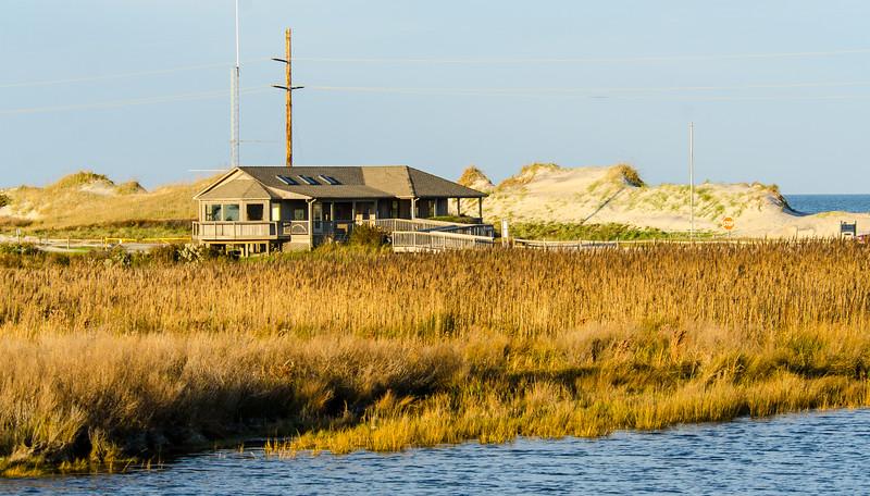 Visitors Center @ Pea Island NWR - Rodanthe, NC
