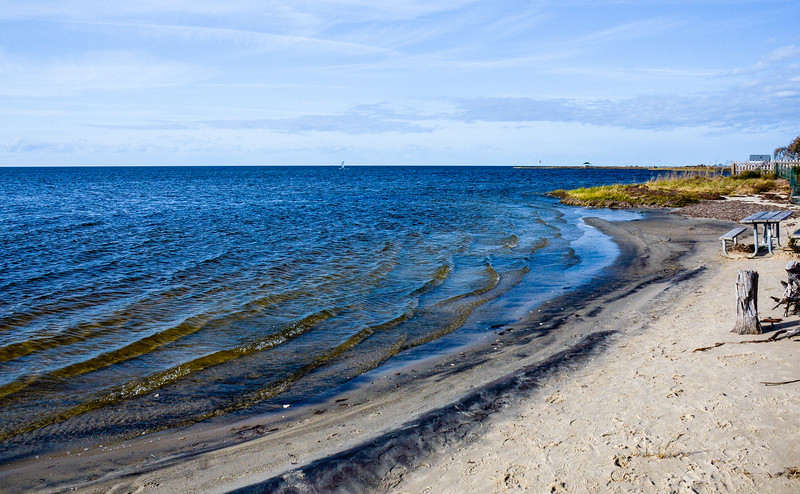 Beach on the Pamlico Sound @ Salvo Day Use Area - Salvo, NC