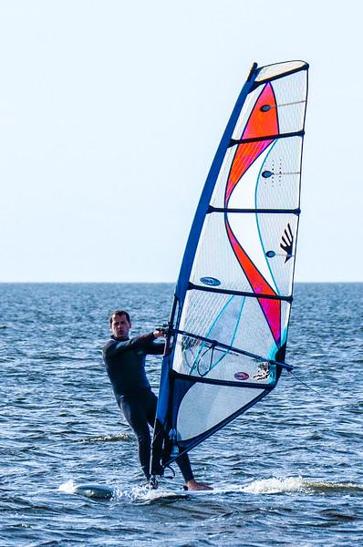 Windsurfing @ Salvo Day Use Area - Salvo, NC