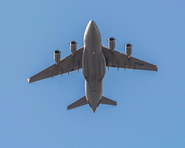 Boeing C-17 Globemaster III likely from Charleston AFB - Sunset Beach, NC, USA