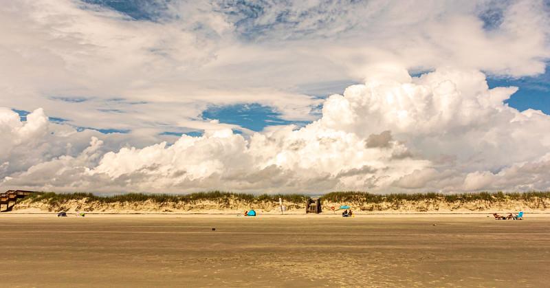 Beach Clouds - Sunset Beach, NC, USA