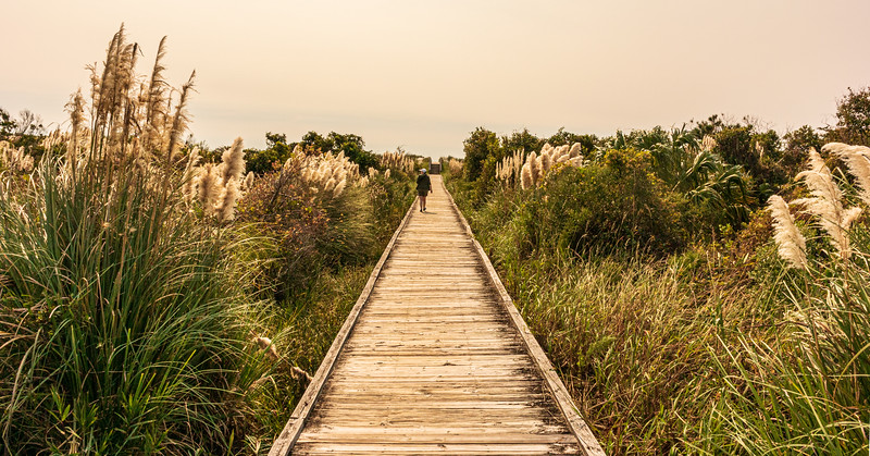 Beach Boardwalk - Sunset Beach, NC, USA
