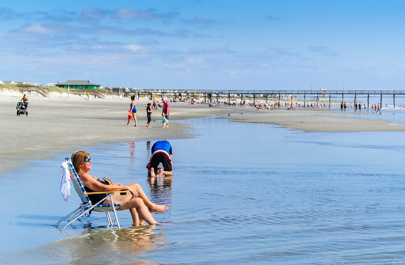 Sunbather - Sunset Beach, NC