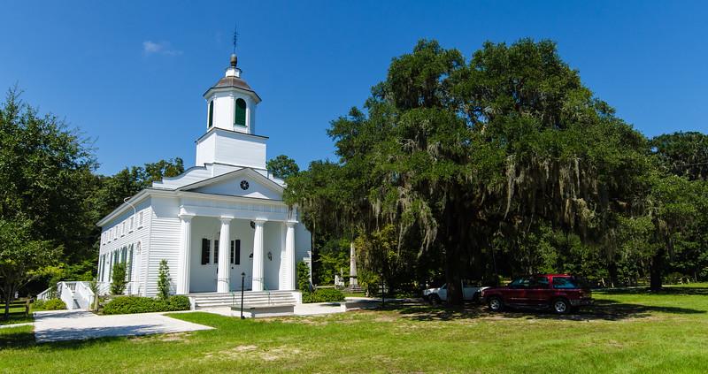 Presbyterian Church on Edisto Island (circa 1831) - Edisto Island, SC