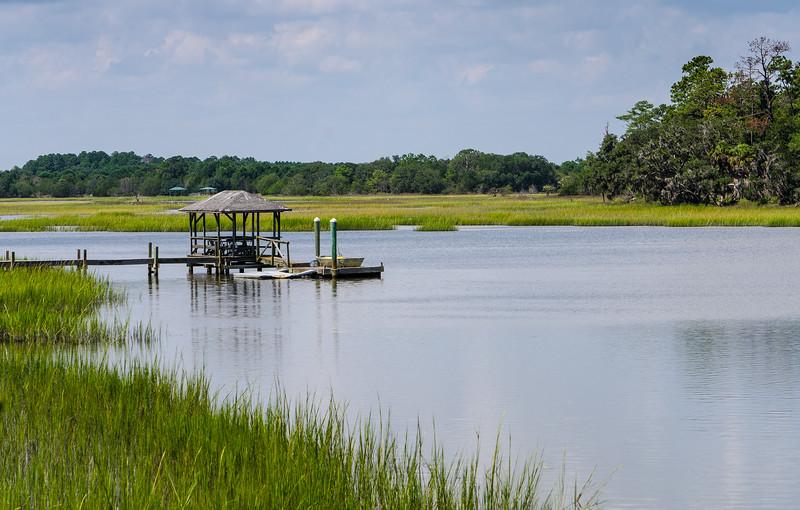 Dock On Russell Creek - Edisto Island, SC