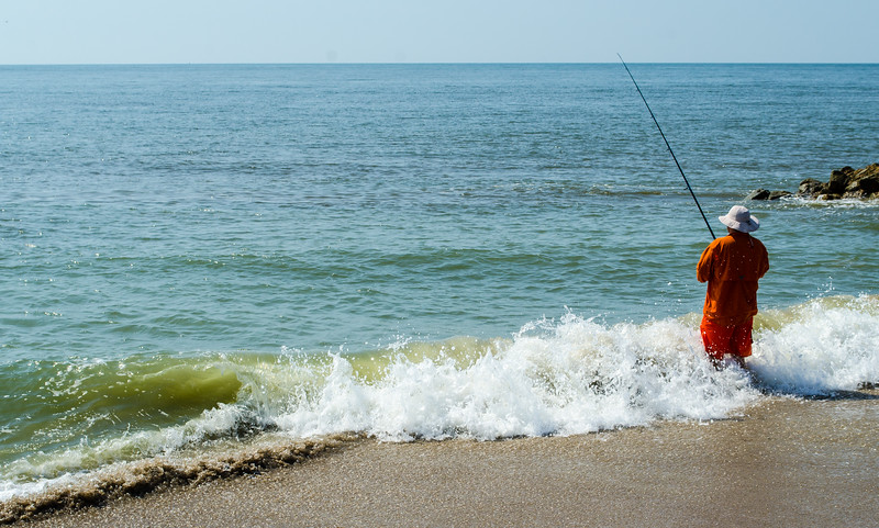 Surf Fishing- Edisto Beach, SC