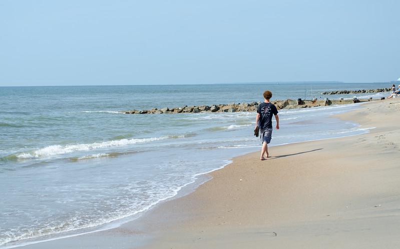 Chris Walking - Edisto Beach, SC