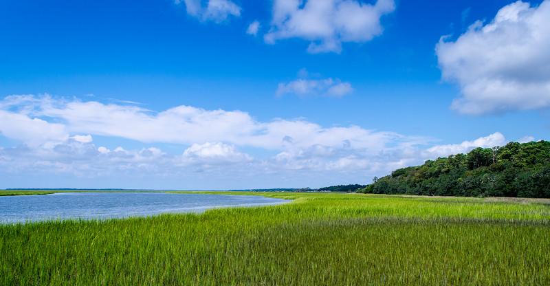 ACE Basin Estuary - Wadmalaw River, Edisto Island State Park, Edisto Island, SC