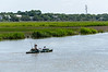 Fisherman Kayaking - Wadmalaw River, Edisto Island, SC