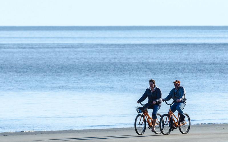 Biking @ Burkes Beach - Hilton Head Island, SC