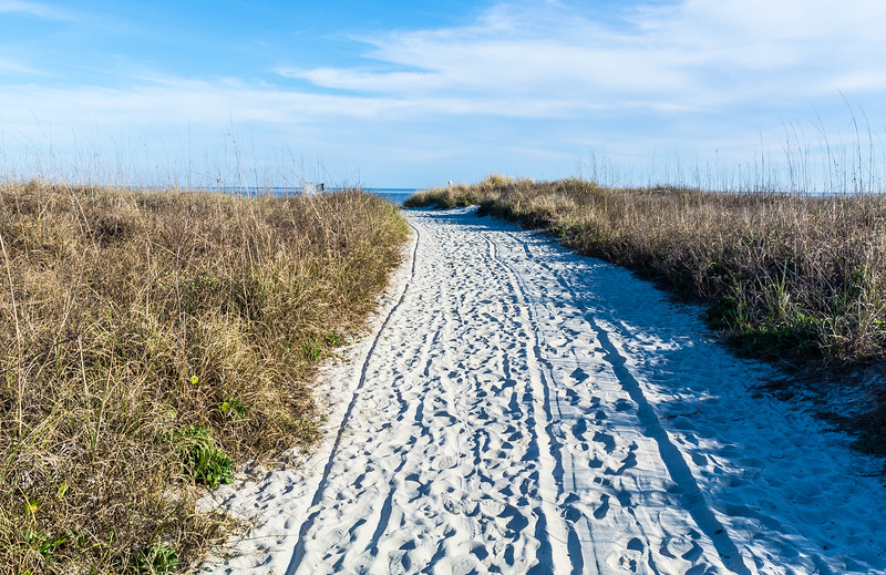 Beach Path @ Burkes Beach - Hilton Head Island, SC